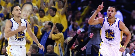 Steph Curry Celebration