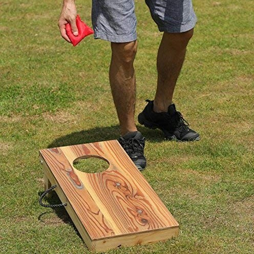 OOFIT Junior Cornhole Board Bean Bag Toss
